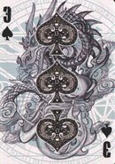 3 spades