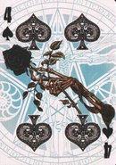 4 spades