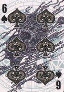 6 spades
