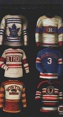 Коллекция свитеров NHL. Оргинальная шестерка