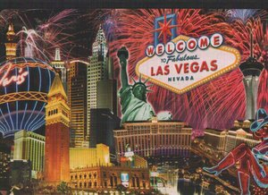 Огромные карты Welcome to Las Vegas